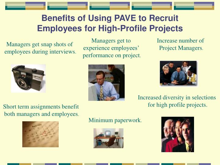 Benefits of Using PAVE to Recruit Employees for High-Profile Projects