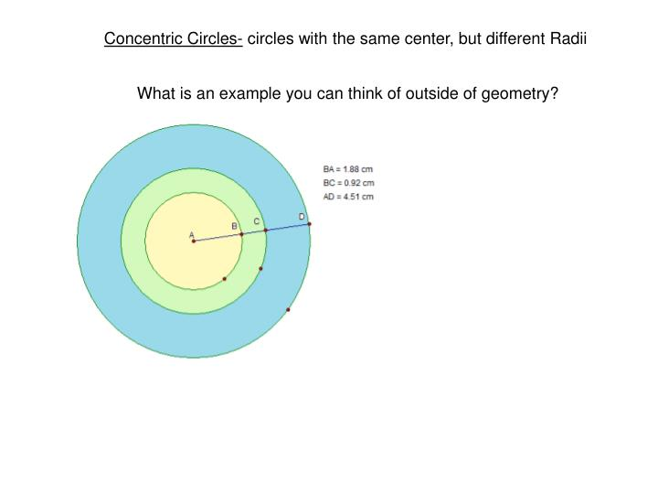 Concentric Circles-