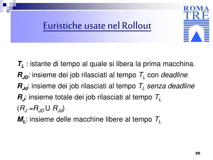 Euristiche usate nel Rollout