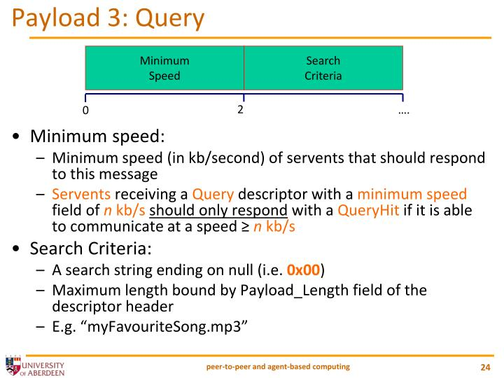 Payload 3: Query