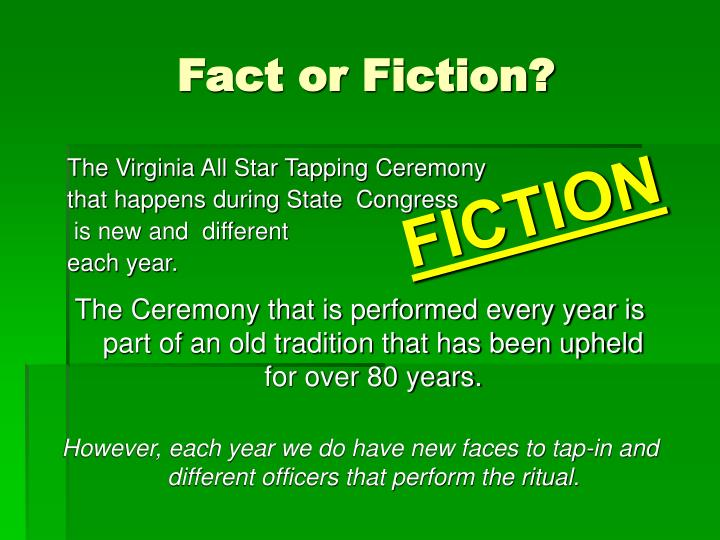 The Virginia All Star Tapping Ceremony