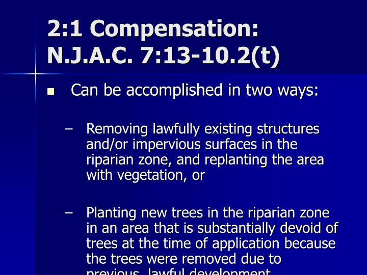 2:1 Compensation: