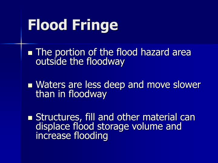Flood Fringe