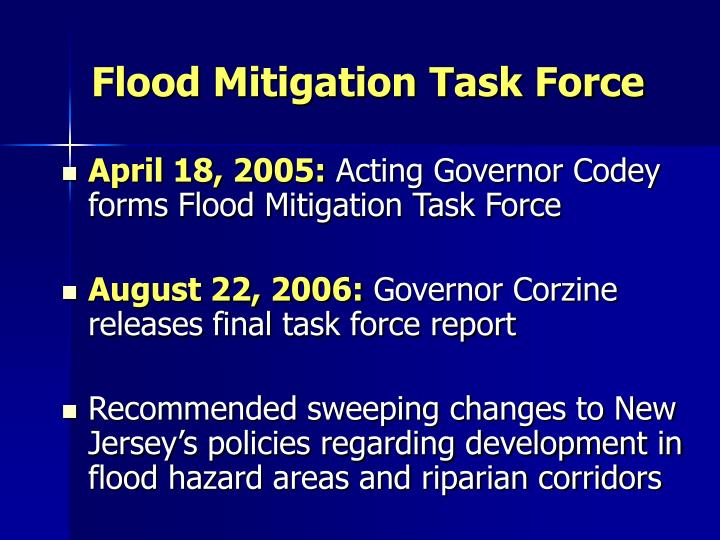 Flood Mitigation Task Force