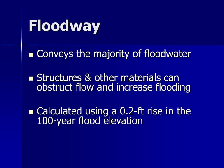 Floodway