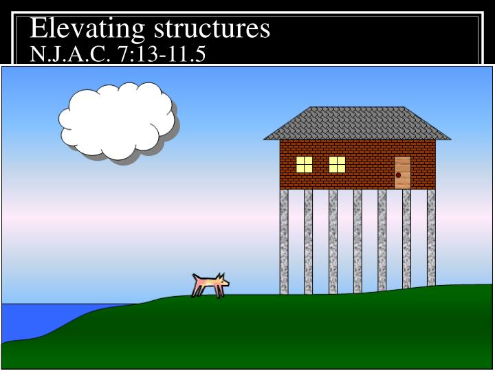 Elevating structures