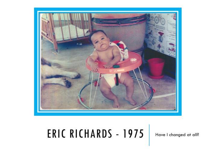 Eric Richards - 1975