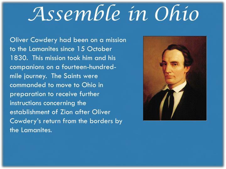 Assemble in Ohio