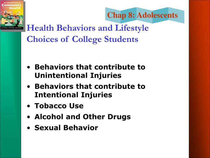 Health Behaviors and Lifestyle Choices of College Students