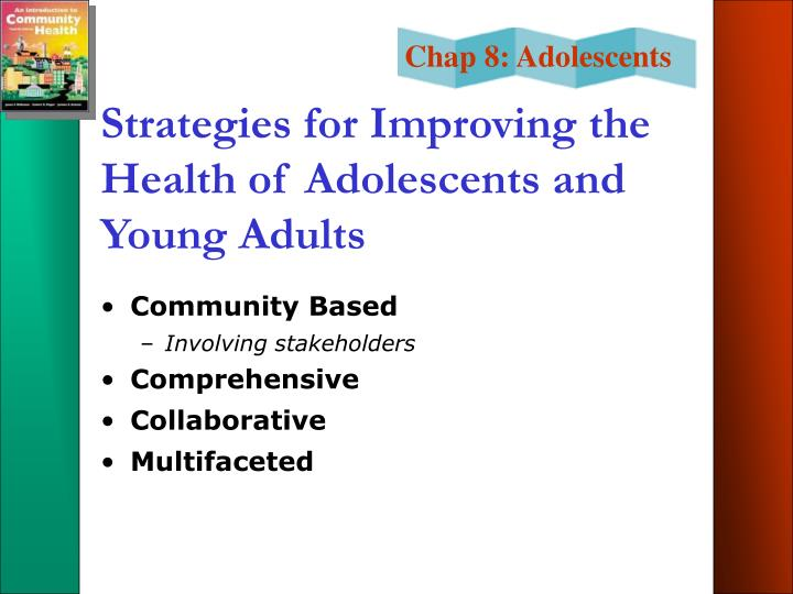 Strategies for Improving the Health of Adolescents and Young Adults