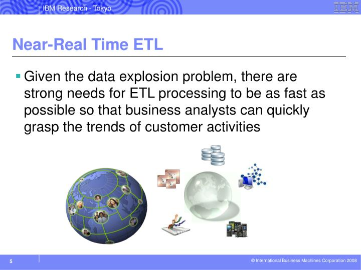 Near-Real Time ETL