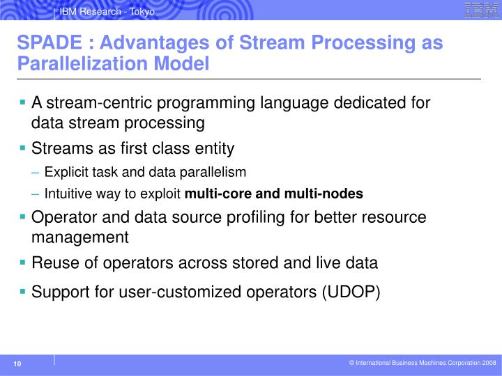 A stream-centric programming language dedicated for data stream processing