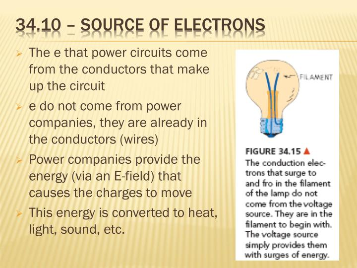 34.10 – source of electrons