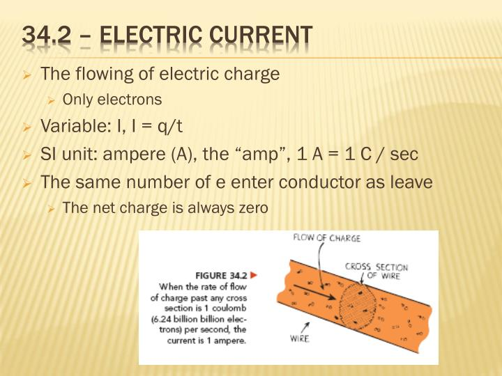 34 2 electric current