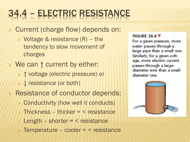 34.4 – Electric resistance
