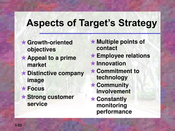 Growth-oriented objectives