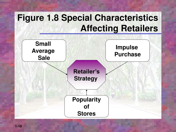 Figure 1.8 Special Characteristics Affecting Retailers