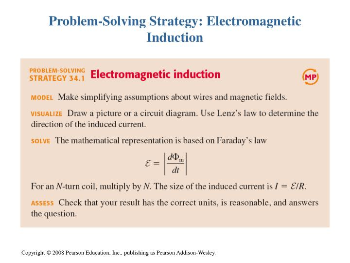 Problem-Solving Strategy: Electromagnetic Induction