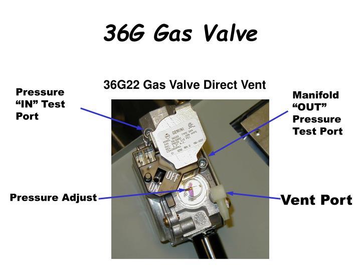 36G22 Gas Valve Direct Vent