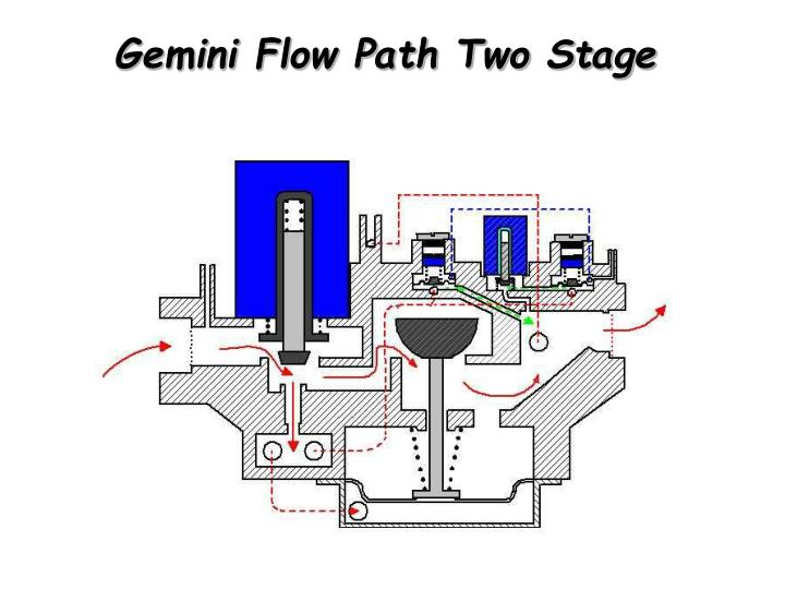 Gemini Flow Path Two Stage