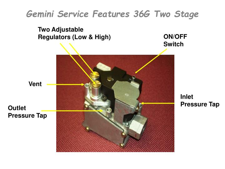 Gemini Service Features 36G Two Stage