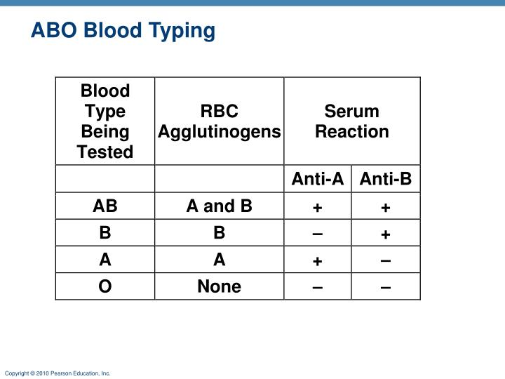 ABO Blood Typing