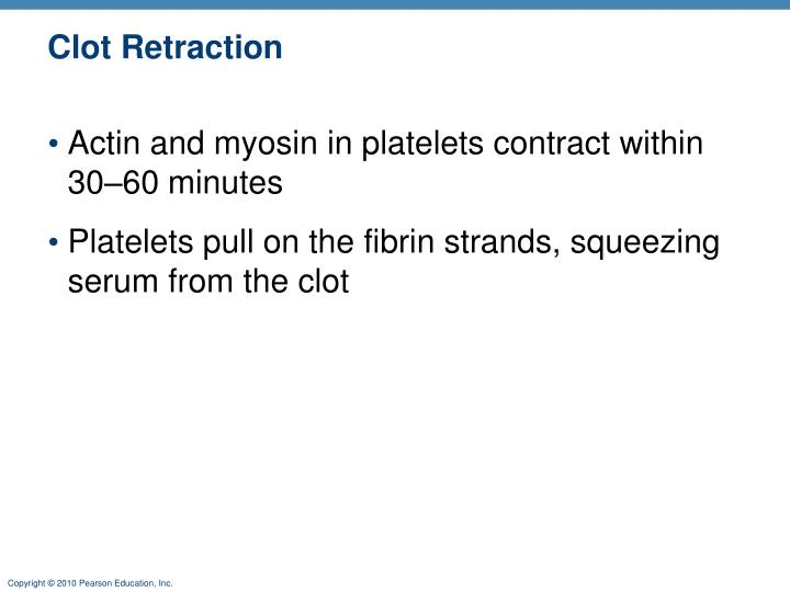 Clot Retraction