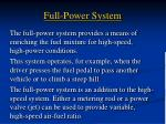 full power system