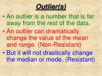 outlier s1