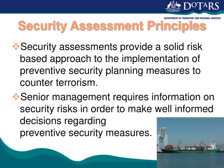 Security Assessment Principles