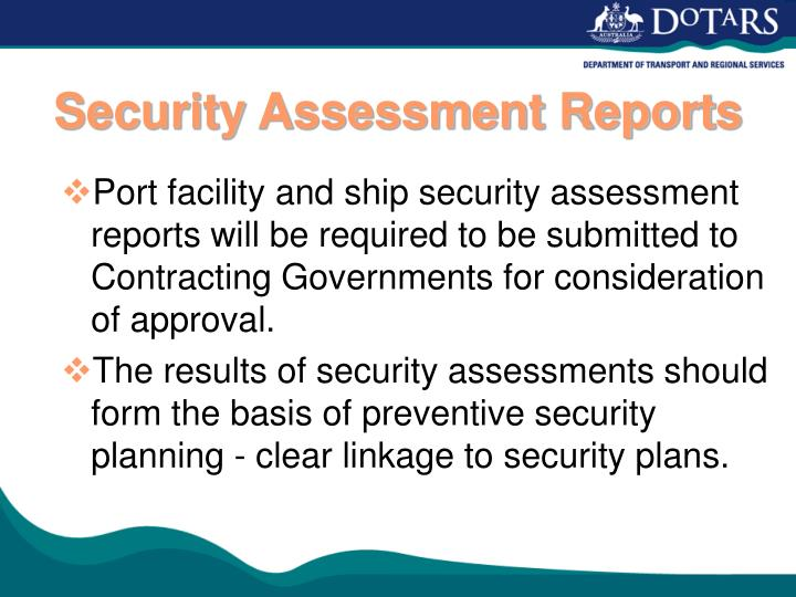 Security Assessment Reports