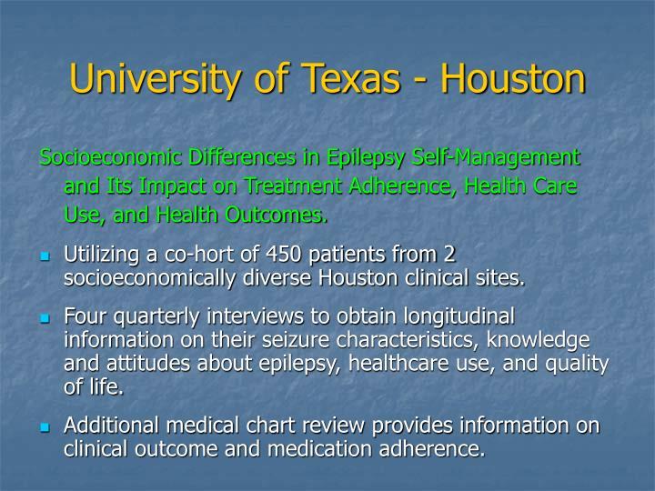 University of Texas - Houston