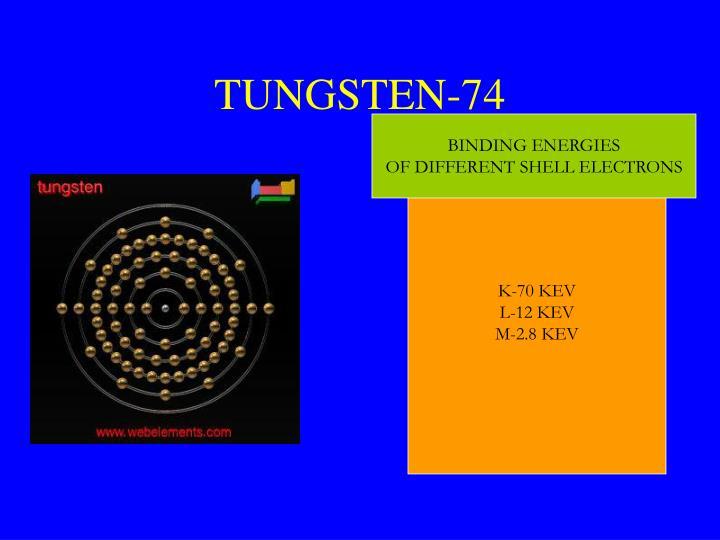 TUNGSTEN-74