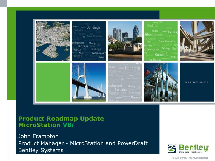 Product roadmap update microstation v8 i