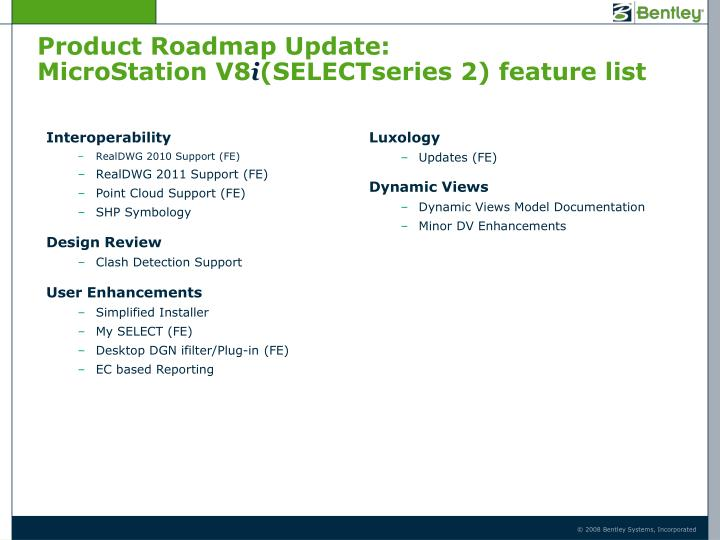 Product Roadmap Update:
