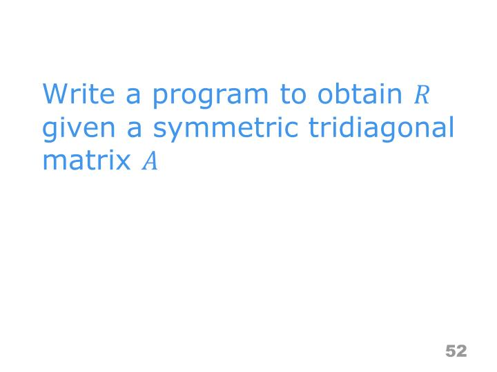 Write a program to obtain