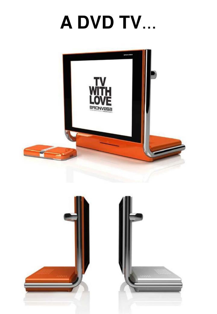 A DVD TV