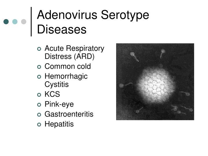 Adenovirus Serotype Diseases