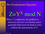 the fundamental equation5