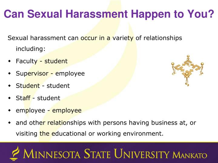 Can Sexual Harassment Happen to You?