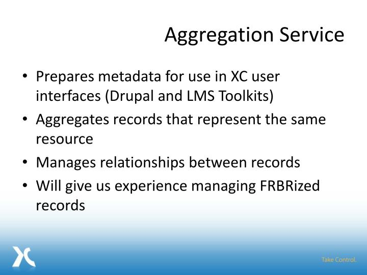 Aggregation Service