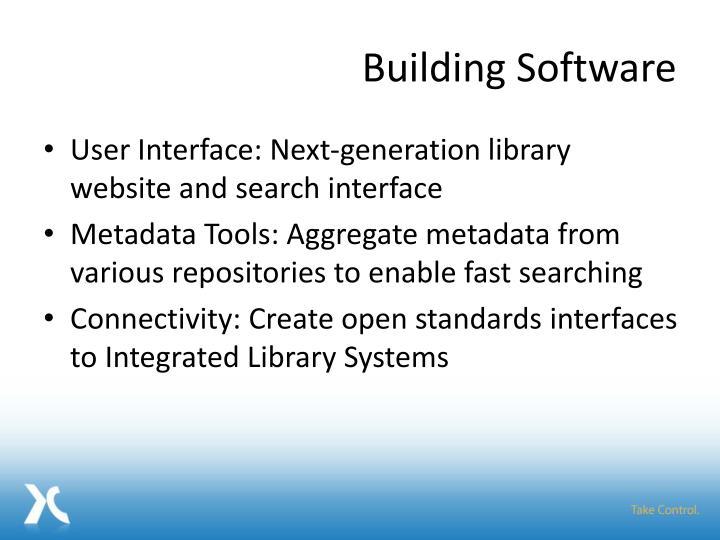 Building Software