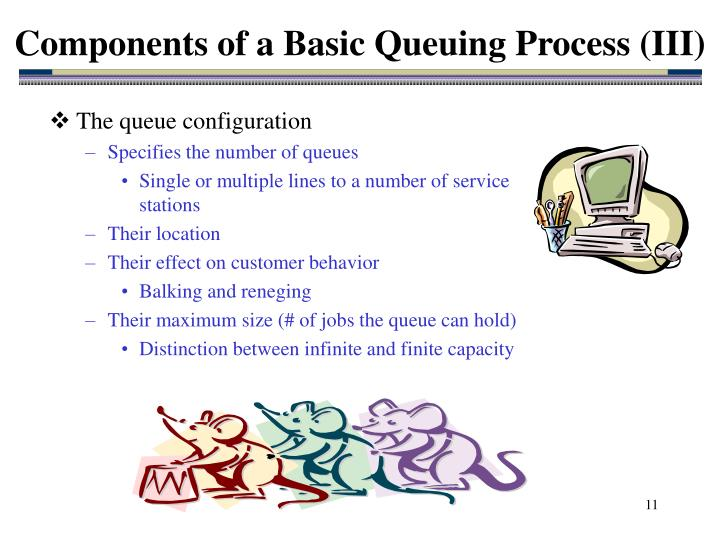 Components of a Basic Queuing Process (III)
