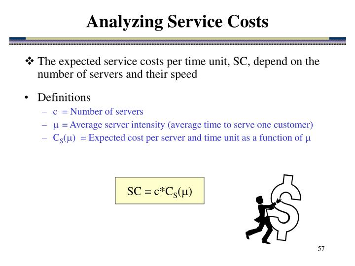 Analyzing Service Costs