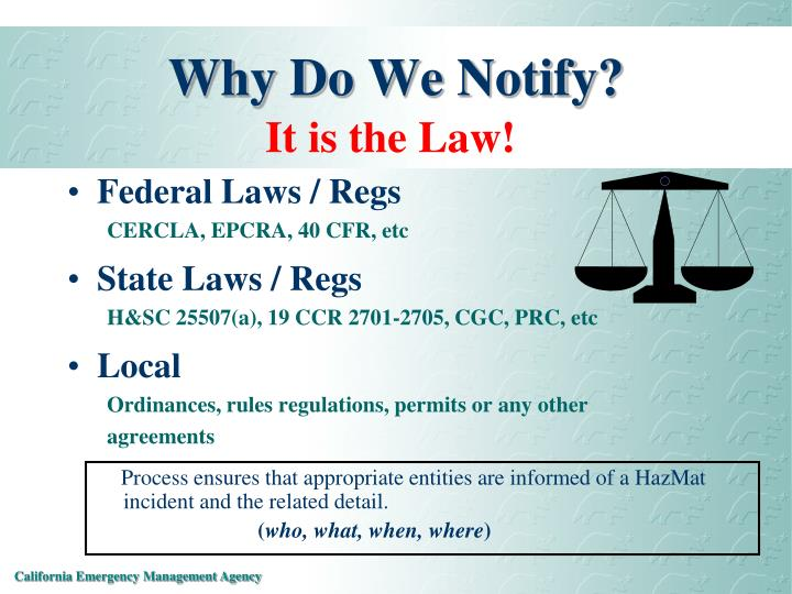 Why Do We Notify?