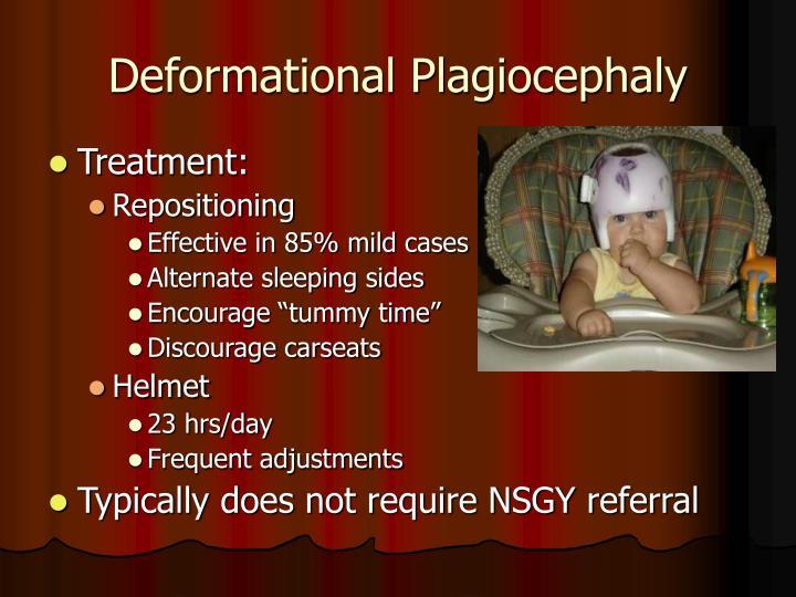 Deformational Plagiocephaly