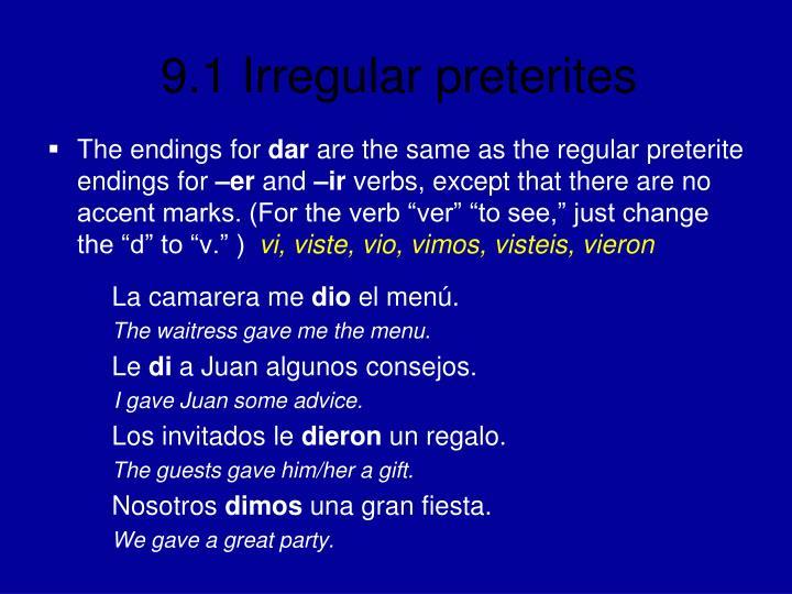 The endings for