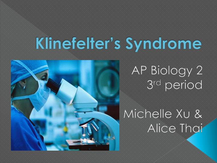klinefelter s syndrome