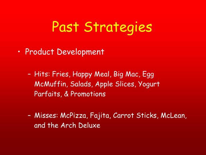 Past Strategies