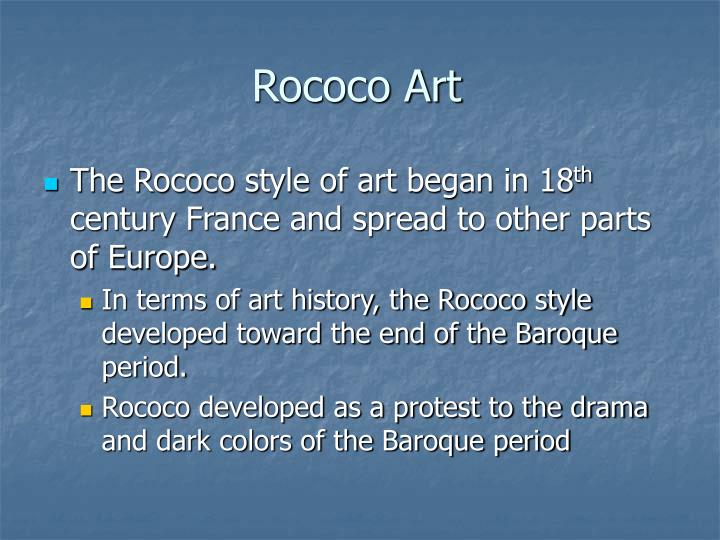 Ppt rococo art powerpoint presentation id 6593244 for Characteristics of baroque period